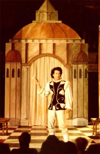 Riverside Shakespeare Company - The Mandrake with Tom Hanks as Callimaco, 1979