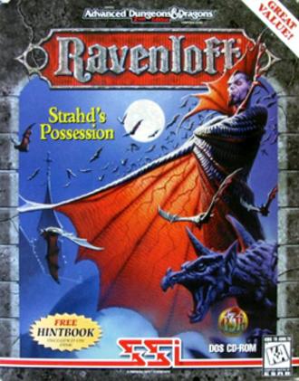 Ravenloft: Strahd's Possession - Image: Ravenloft Strahd's Possession Coverart