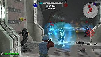 Star Wars Battlefront: Renegade Squadron - Players have the ability to customize the appearance and weaponry of their individual characters.