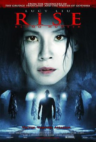 Rise: Blood Hunter - Theatrical release poster