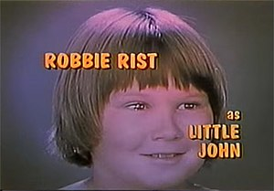 Big John, Little John - Little John (Robbie Rist), as seen in the opening credits.