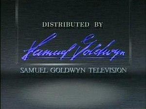 Samuel Goldwyn Television - The company's 1989-1997 logo.