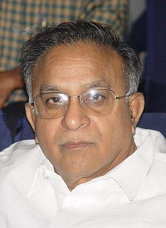 Rajya Sabha - Image: S Jaipal Reddy (Cropped)