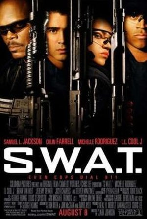 S.W.A.T. (film) - Theatrical release poster