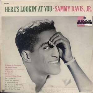 Here's Lookin' at You (album) - Image: Sammy Davis, Jr., Here's Lookin at You Cover Art
