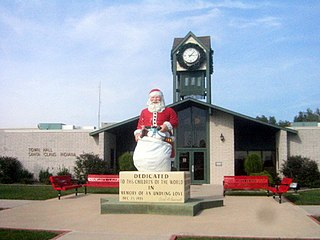 Santa Claus, Indiana Town in Indiana, United States