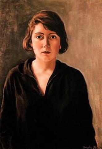 Ángeles Santos Torroella - Self portrait, 1928