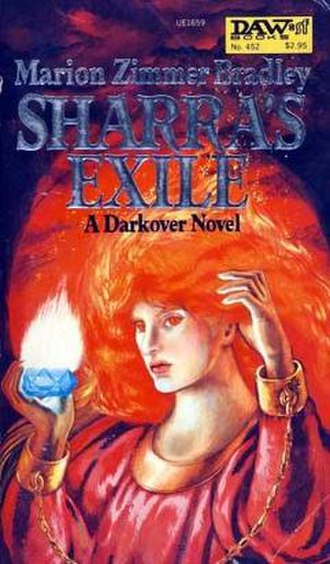 Sharra's Exile - Cover of the first edition