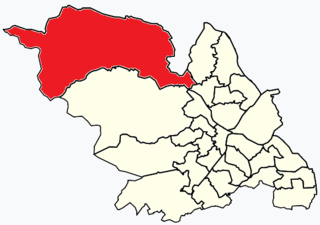 Stocksbridge and Upper Don Electoral ward in the City of Sheffield, South Yorkshire, England