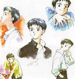 Shinji Ikari Wikipedia