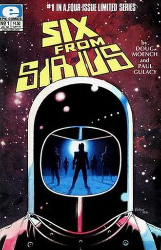 Six from Sirius - Cover of the 1st issue