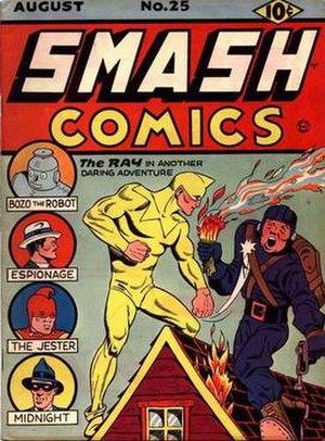 Ray (comics) - Image: Smashcomics 25