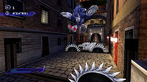 Sonic Unleashed - Werehog gameplay in nighttime levels (Spagonia, Wii/PS2 version)