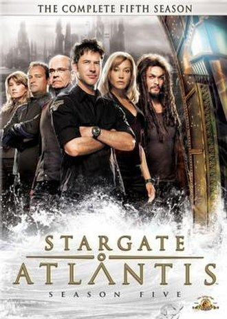 Stargate Atlantis (season 5) - DVD cover