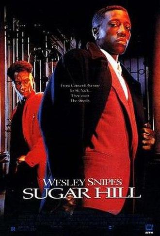 Sugar Hill (1994 film) - Theatrical release poster