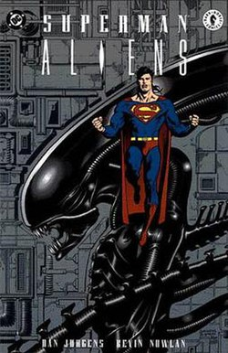 Image result for Superman/Aliens