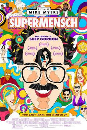 Supermensch: The Legend of Shep Gordon - Image: Supermensch The Legend of Shep Gordon poster