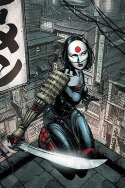 Katana (comics) - Wikipedia