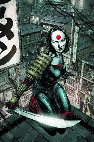 Katana (comics) - Image: Tatsu Yamashiro (comic superheroine, modern incarnation)