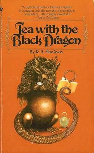 Tea with the Black Dragon - Cover of first edition (paperback)