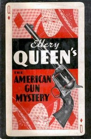 The American Gun Mystery - First US edition cover design