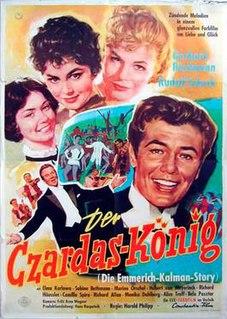 <i>The Csardas King</i> 1958 film