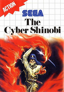 <i>The Cyber Shinobi</i> 1990 video game