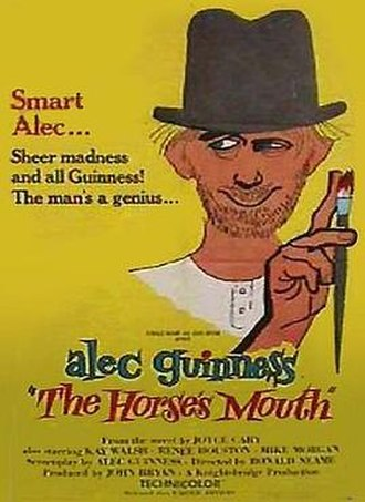 The Horse's Mouth (film) - The Horse's Mouth US Theatrical Poster by Nicola Simbari