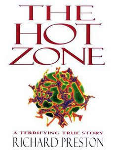 <i>The Hot Zone</i> 1995 nonfiction book by Richard Preston