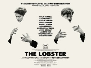 The Lobster - Irish poster