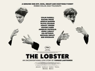 The Lobster - Theatrical release poster