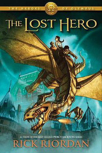 The Lost Hero - First edition cover