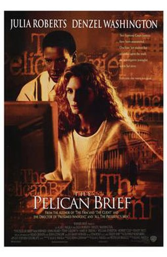 The Pelican Brief (film) - Theatrical release poster