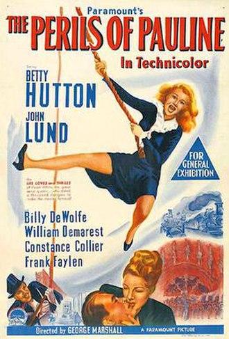 The Perils of Pauline (1947 film) - 1947 theatrical poster