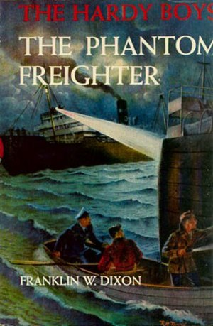 The Phantom Freighter - Original cover