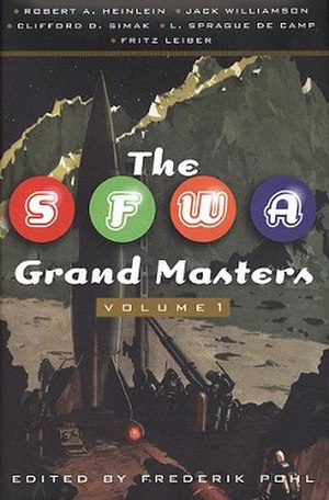 The SFWA Grand Masters, Volume 1 - Cover of first edition
