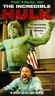 <i>The Trial of the Incredible Hulk</i> 1989 television film directed by Bill Bixby