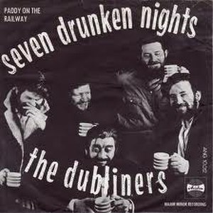 Seven Drunken Nights - Image: The dubliners seven drunken nights 1967