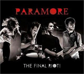 <i>The Final Riot!</i> 2008 live album by Paramore