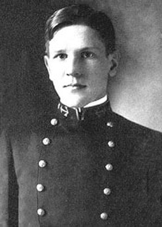 Theodore Stark Wilkinson - Wilkinson as a midshipman at the United States Naval Academy