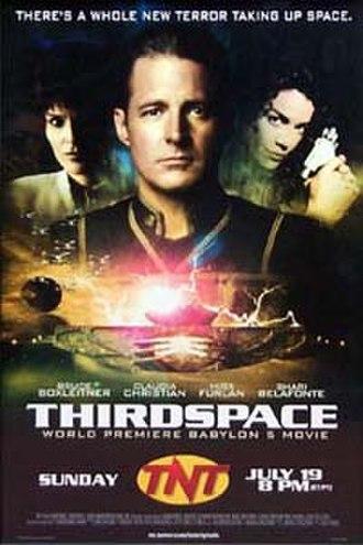 Babylon 5: Thirdspace - TNT Promotional Poster for Babylon 5: Thirdspace