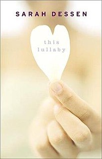 <i>This Lullaby</i> book by Sarah Dessen