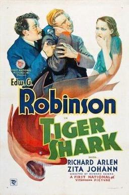 Tiger Shark 1932 poster