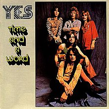 Original US cover featuring Steve Howe (far right)