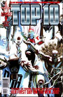 <i>Top 10</i> (comics) manga