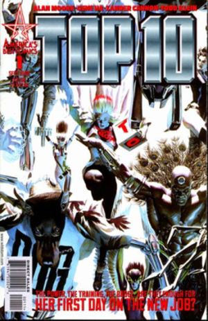 Top 10 (comics) - Image: Top 10 1