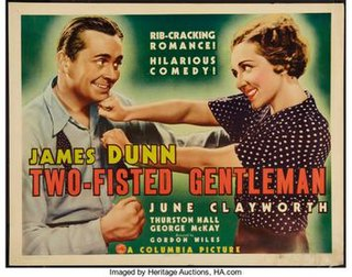 <i>Two-Fisted Gentleman</i> 1936 film by Gordon Wiles