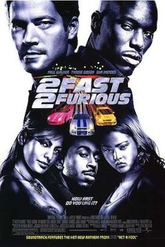 2 Fast 2 Furious - Theatrical release poster