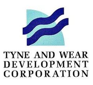 Tyne and Wear Development Corporation - Image: Tyne & Wear Development Corporation logo