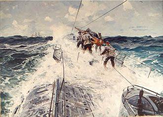 Claus Bergen - U-Boat, World War One, C. Bergen